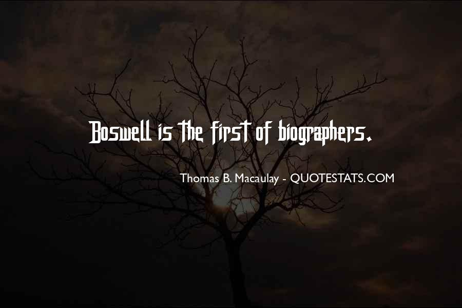 Thomas Boswell Quotes #507926