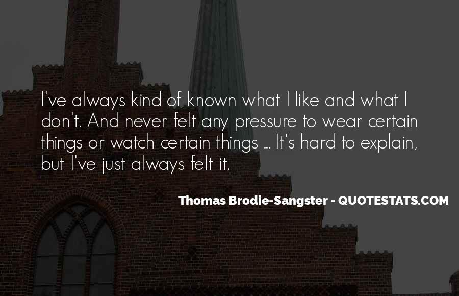Thomas Brodie Sangster Quotes #1120210