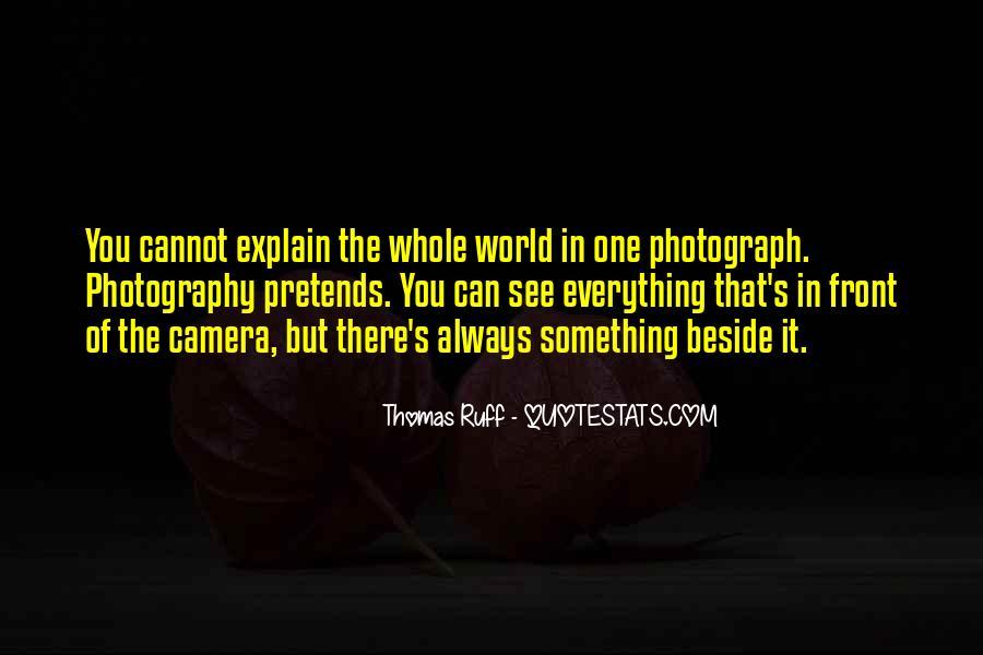Thomas Ruff Quotes #591624