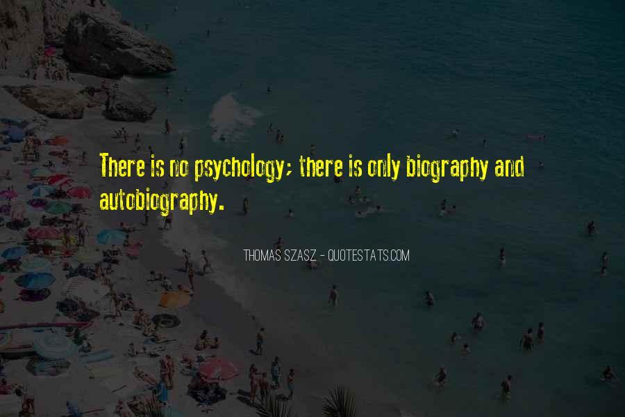 Thomas Szasz Quotes #329695