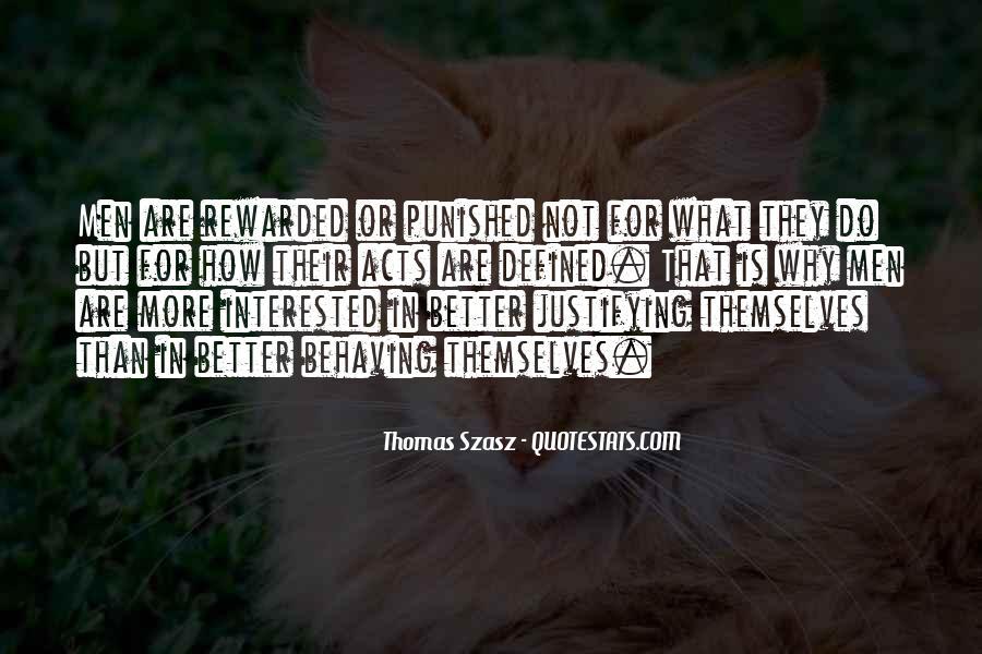 Thomas Szasz Quotes #357070