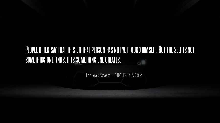 Thomas Szasz Quotes #592580