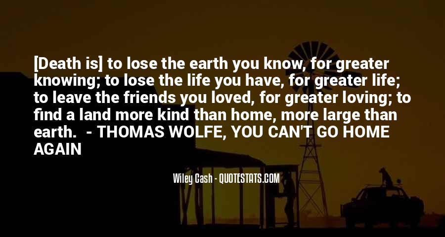 Thomas Wolfe Quotes #106758