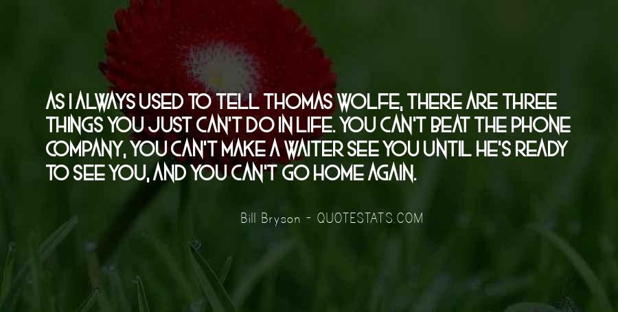 Thomas Wolfe Quotes #1222384