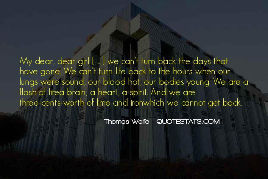 Thomas Wolfe Quotes #12589