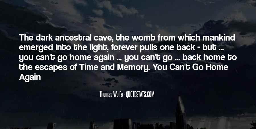 Thomas Wolfe Quotes #1277592