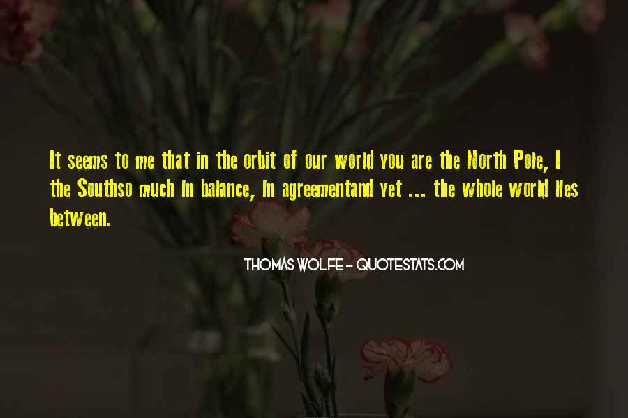Thomas Wolfe Quotes #145475