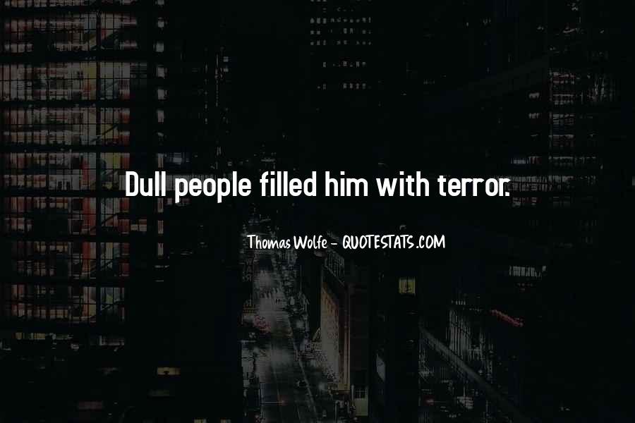 Thomas Wolfe Quotes #1549262