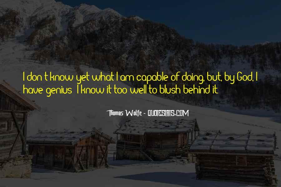Thomas Wolfe Quotes #1686421