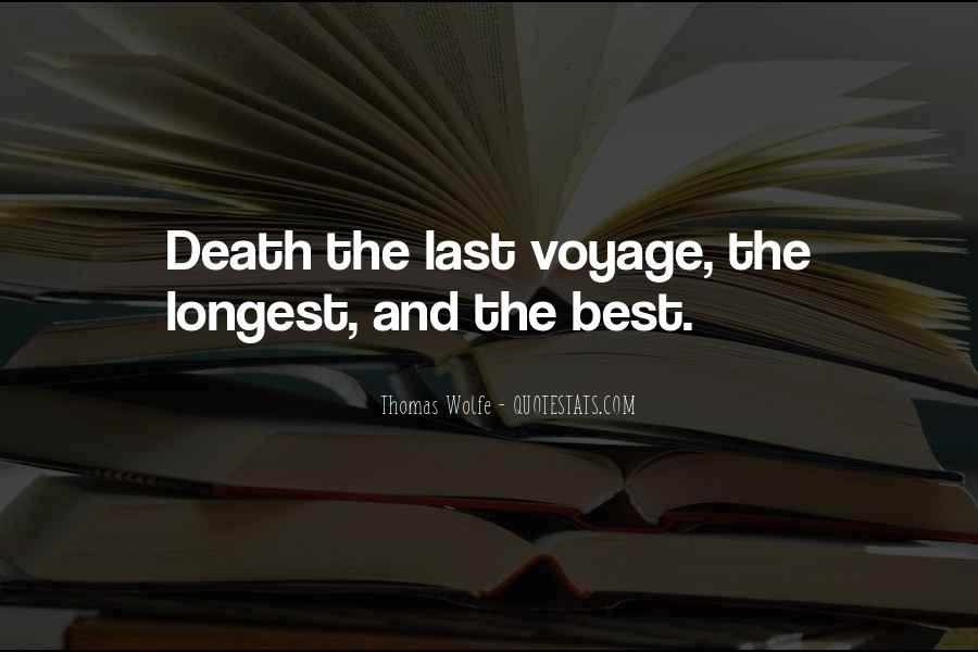 Thomas Wolfe Quotes #1703608