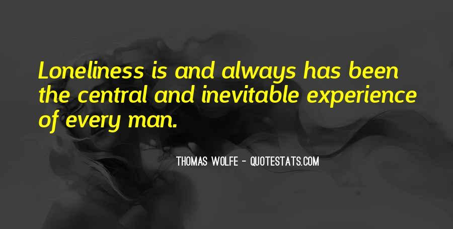 Thomas Wolfe Quotes #211911