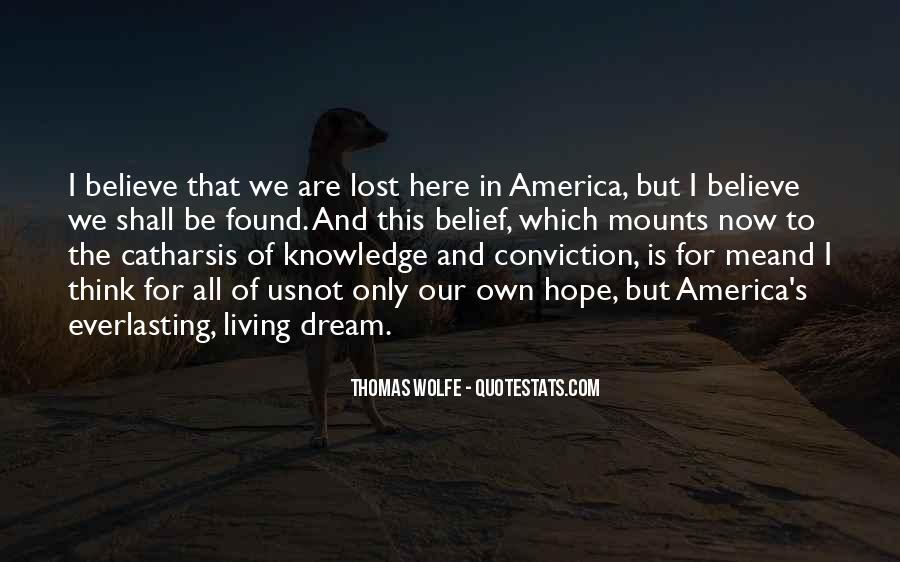Thomas Wolfe Quotes #216912