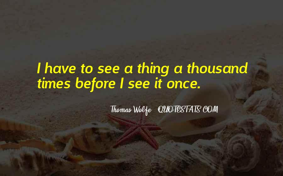Thomas Wolfe Quotes #230745