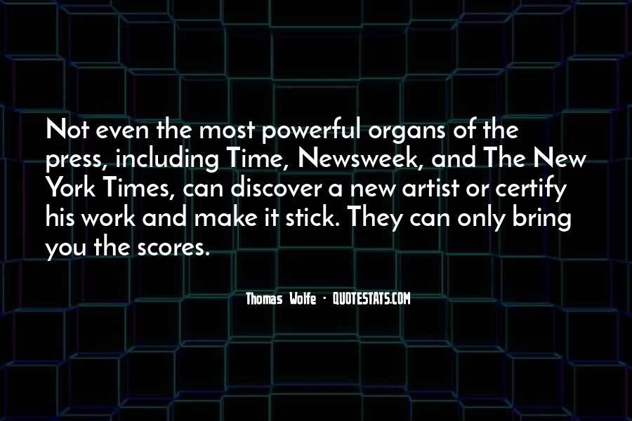 Thomas Wolfe Quotes #279806