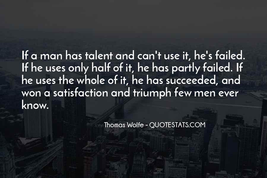 Thomas Wolfe Quotes #345848
