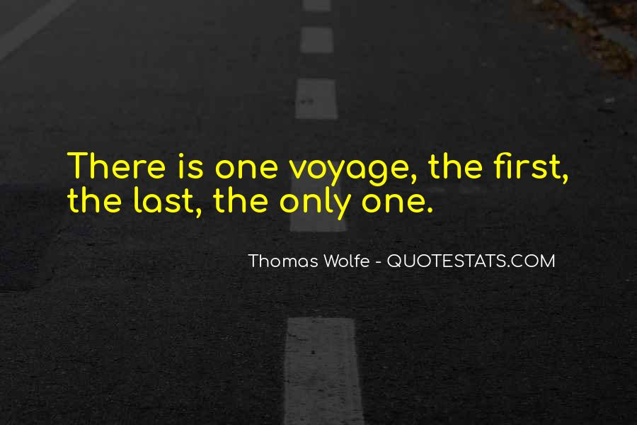 Thomas Wolfe Quotes #365659