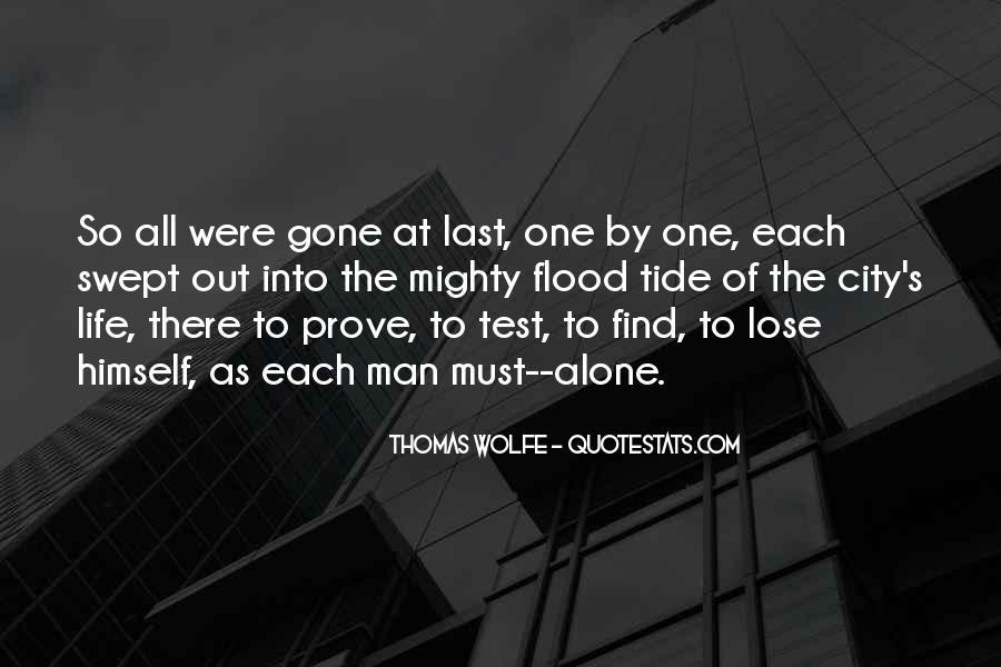 Thomas Wolfe Quotes #44892