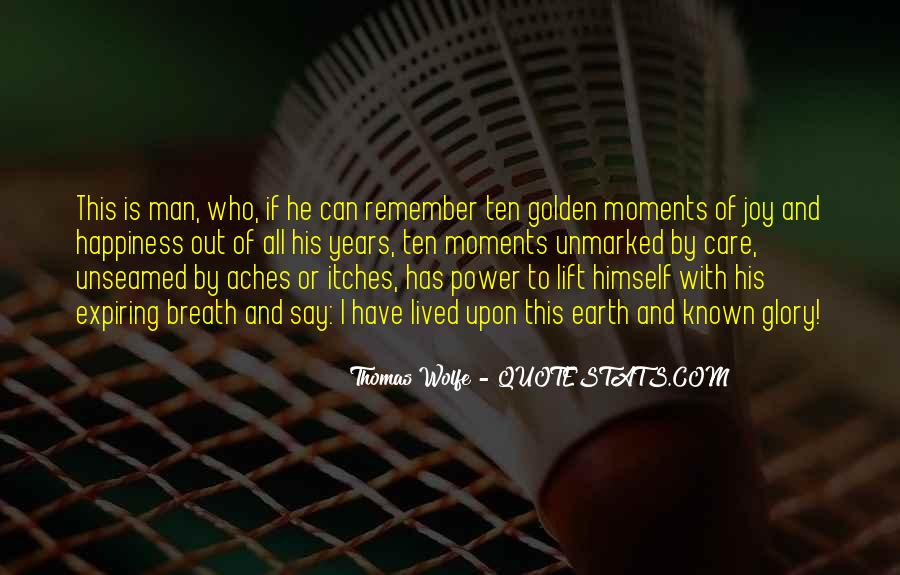 Thomas Wolfe Quotes #570473