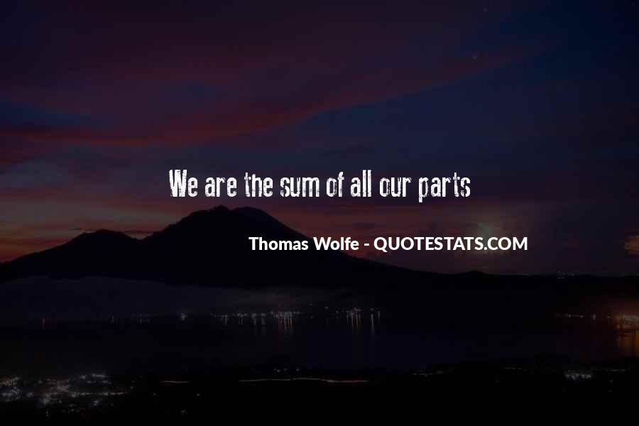 Thomas Wolfe Quotes #668832