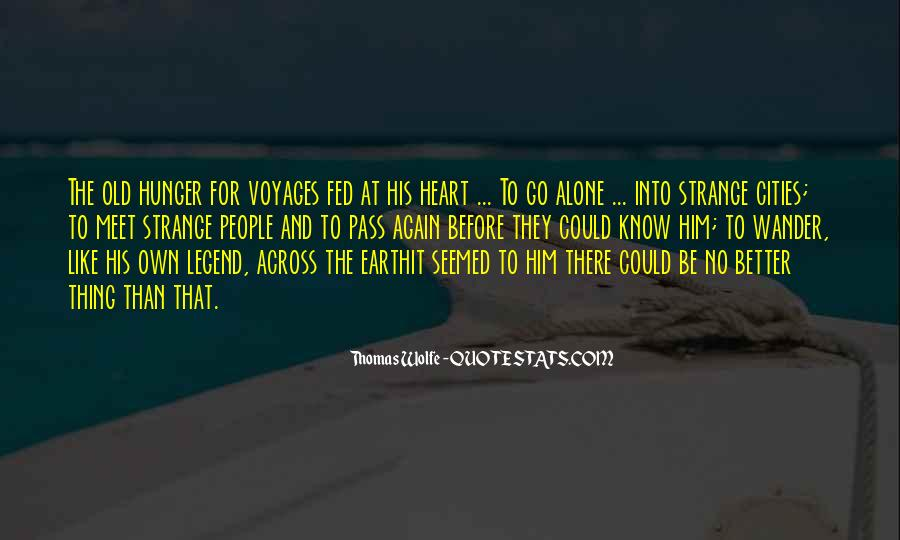 Thomas Wolfe Quotes #689711