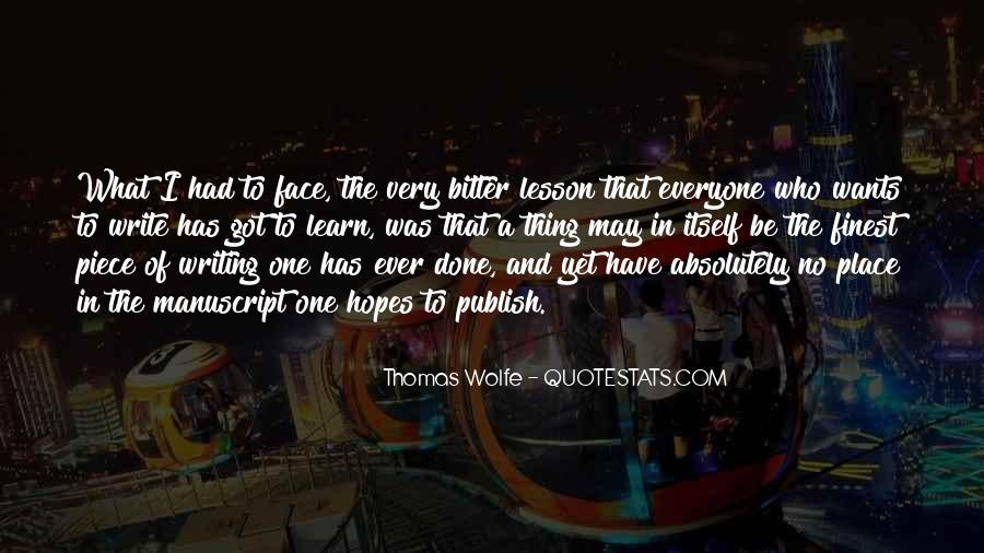 Thomas Wolfe Quotes #713276