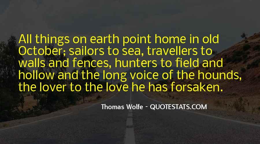 Thomas Wolfe Quotes #761653