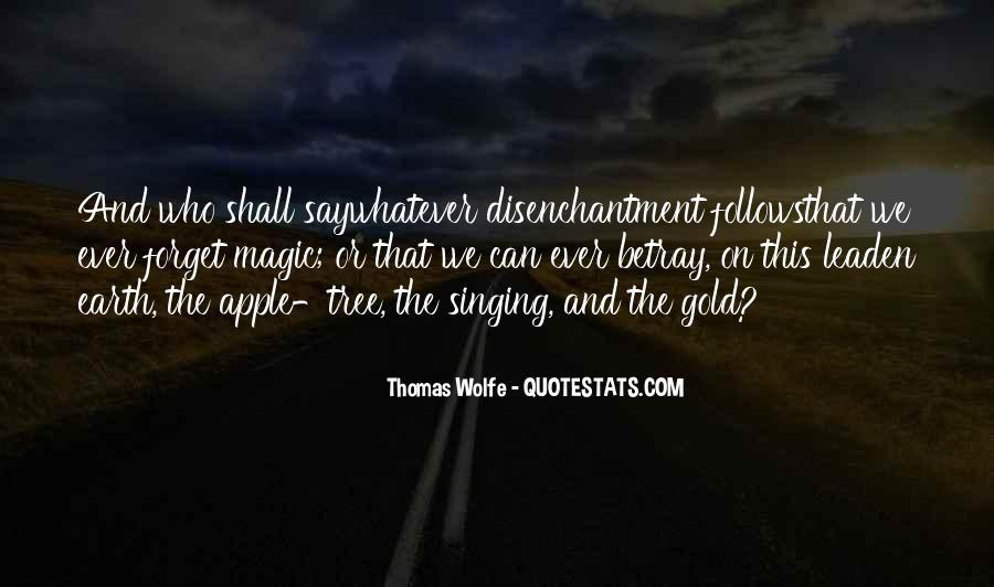 Thomas Wolfe Quotes #767370