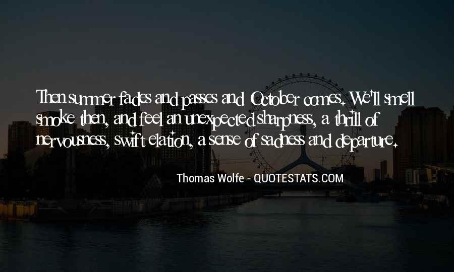 Thomas Wolfe Quotes #84644