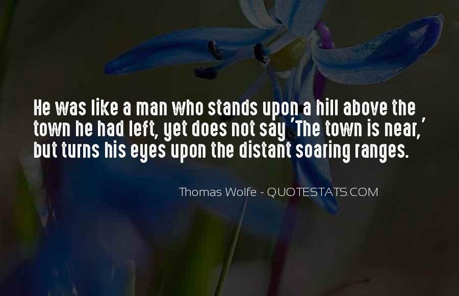 Thomas Wolfe Quotes #846814