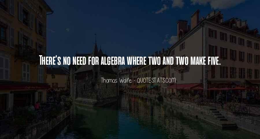 Thomas Wolfe Quotes #87604