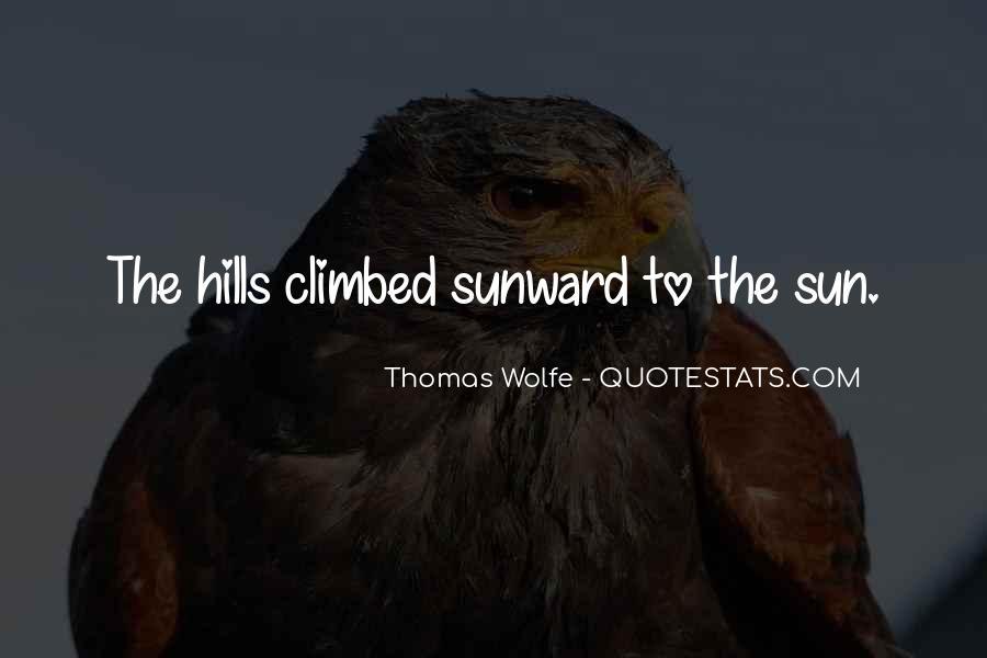 Thomas Wolfe Quotes #94588