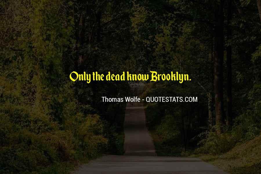 Thomas Wolfe Quotes #989107
