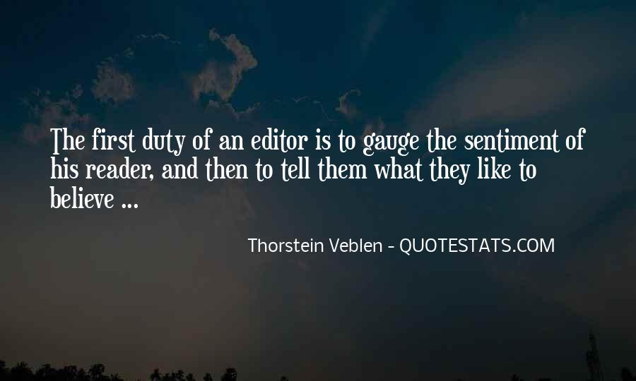 Thorstein Veblen Quotes #1188020