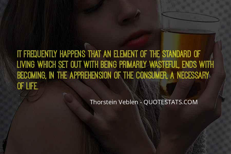 Thorstein Veblen Quotes #1849063