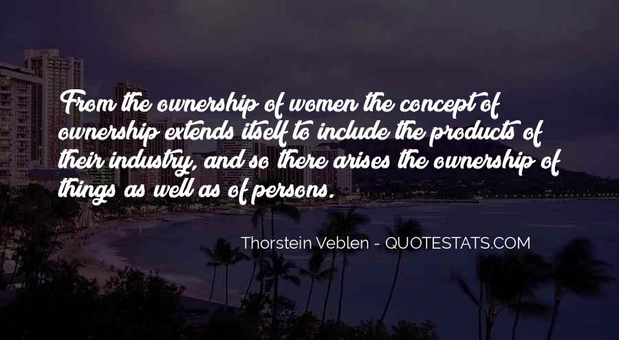 Thorstein Veblen Quotes #593556