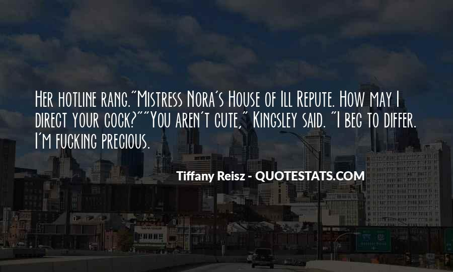 Tiffany Reisz Quotes #245275