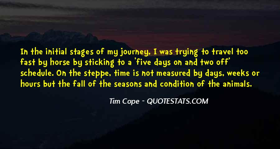 Tim Cope Quotes #1278497