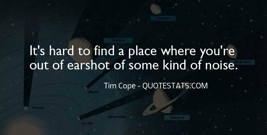 Tim Cope Quotes #1819934