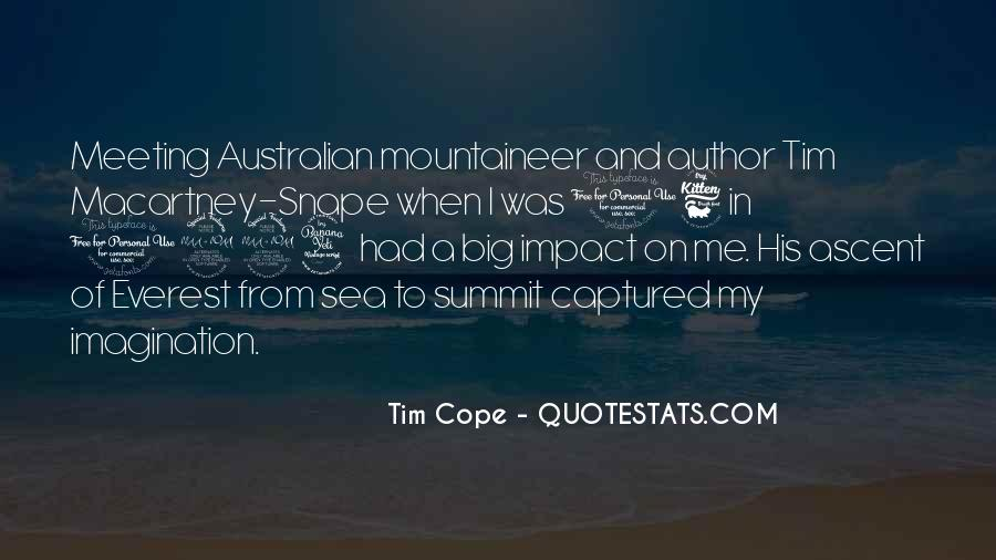 Tim Cope Quotes #382290