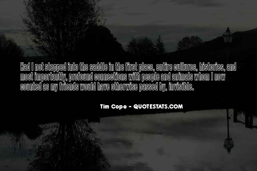 Tim Cope Quotes #517090