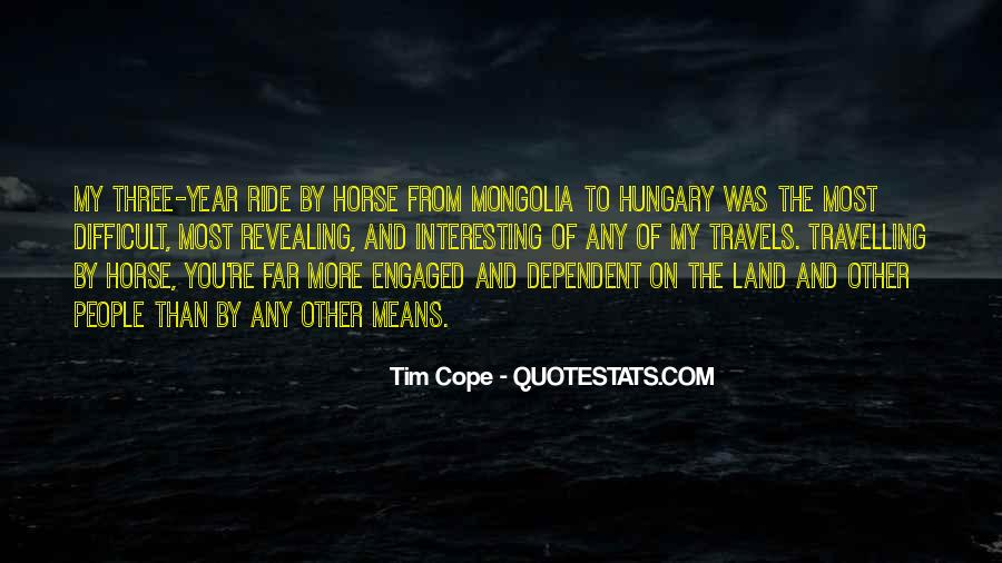 Tim Cope Quotes #707035