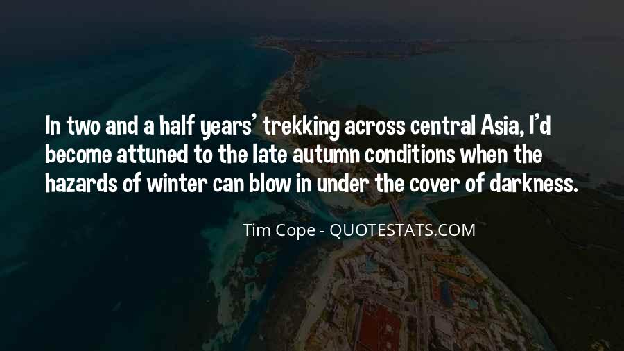 Tim Cope Quotes #981344