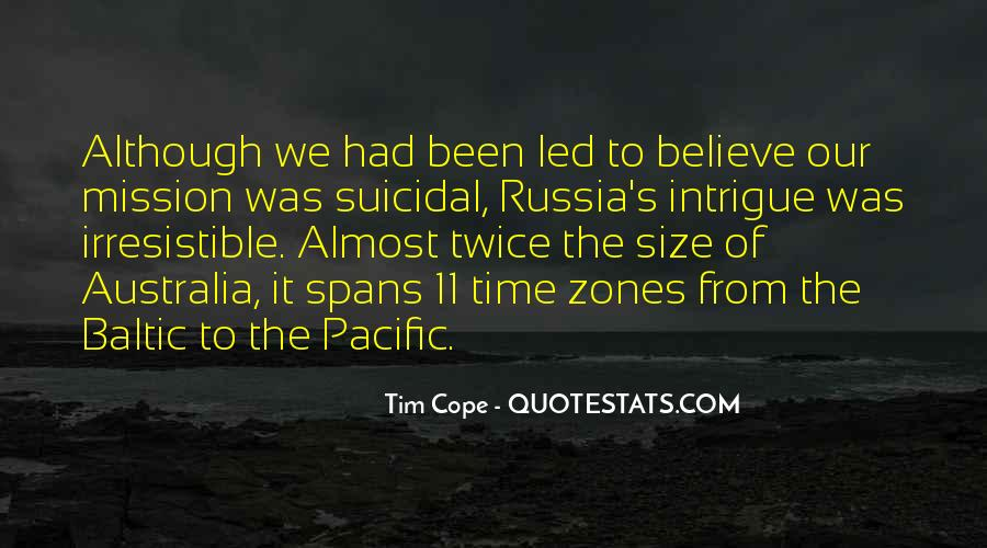 Tim Cope Quotes #992753