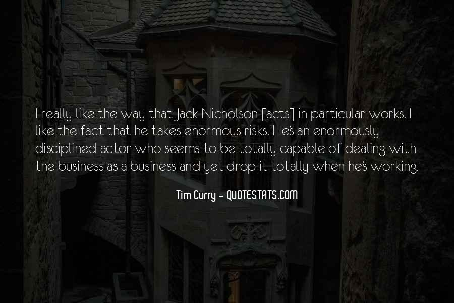 Tim Curry Quotes #1002597