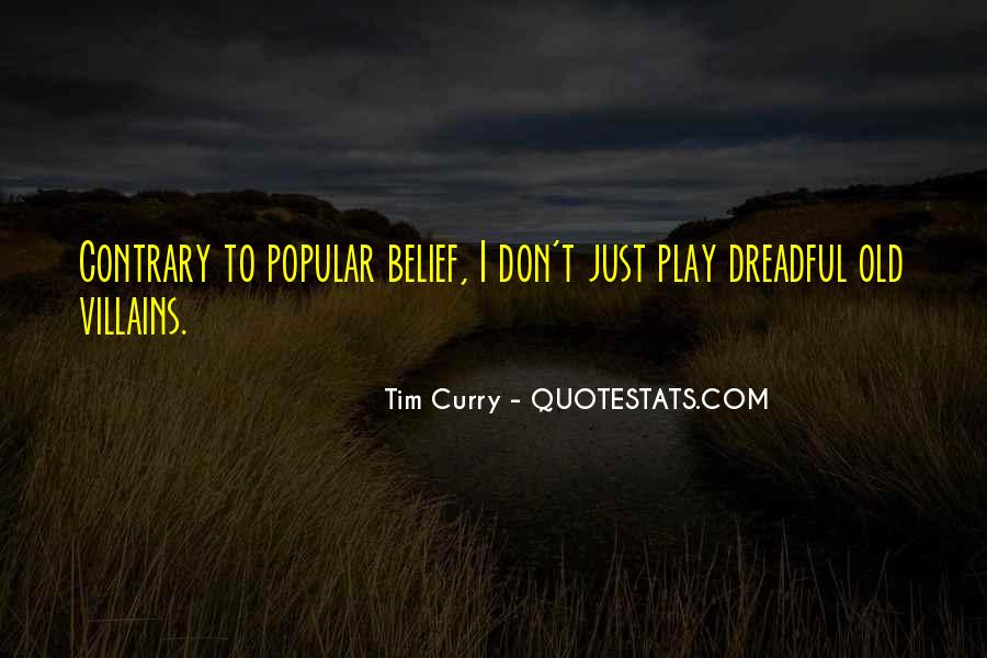 Tim Curry Quotes #916668