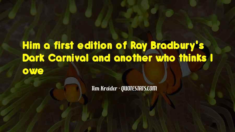 Tim Kreider Quotes #1172873