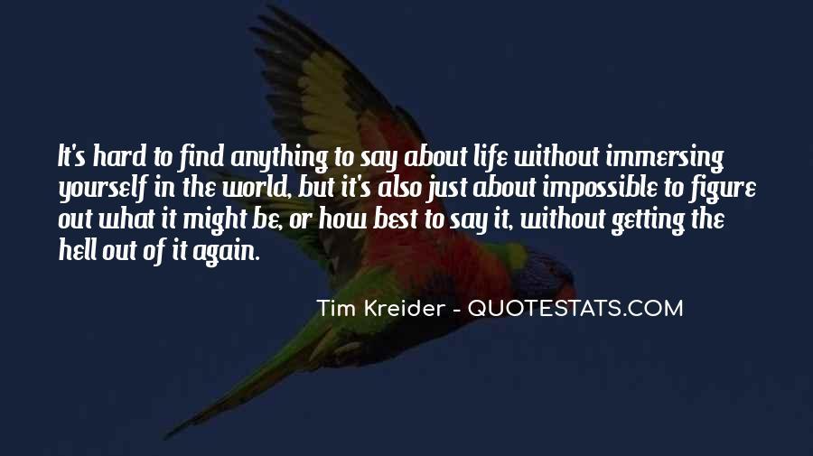 Tim Kreider Quotes #1450746