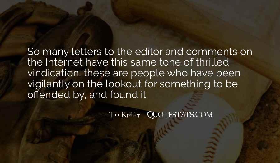 Tim Kreider Quotes #737800