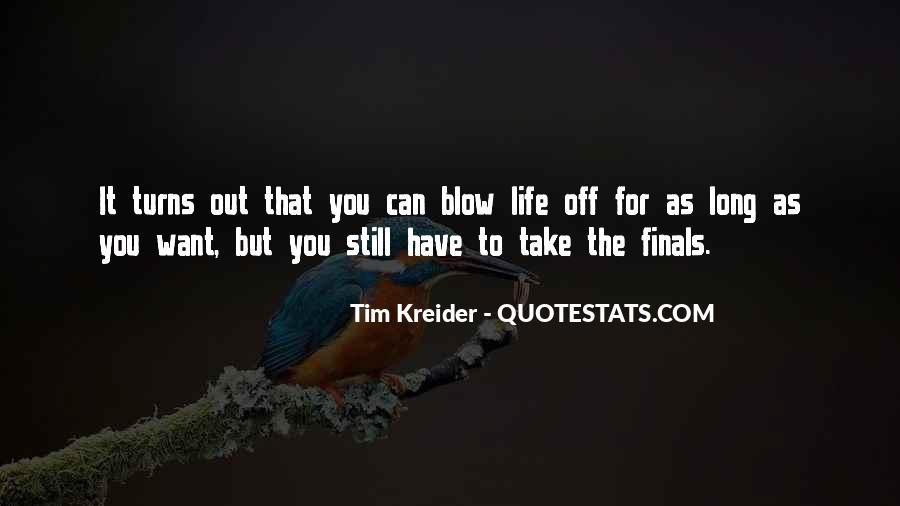 Tim Kreider Quotes #768460