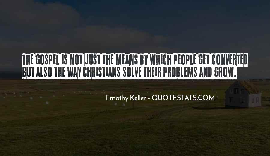 Timothy Keller Quotes #245306
